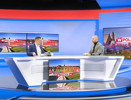 Jan Śpiewak na antenie Telewizji wPolsce