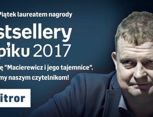 Bestsellery Empiku 2017: Przemowa Tomasza Piątka [WIDEO]