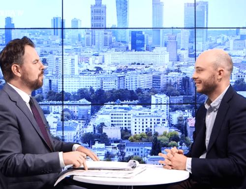 """Jan Śpiewak w #RZECZoPOLITYCE: """"Reprezentuję głos mieszkańców Warszawy"""""""